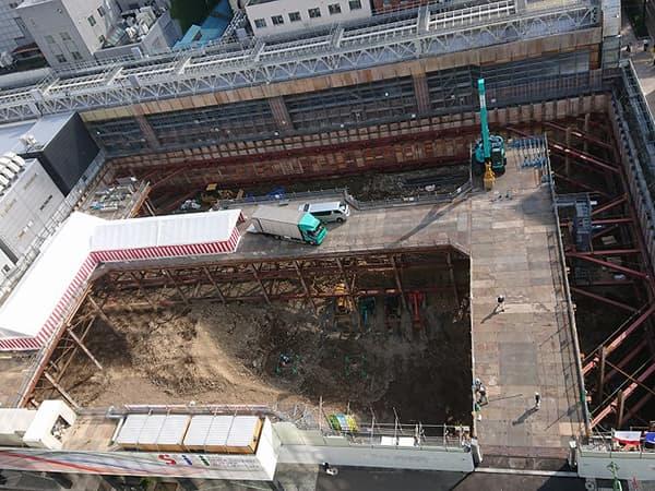 南2西3南西地区市街地再開発工事進捗 定点写真2019_10